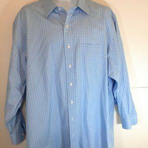 Brooks Brothers Madison Cotton Checkered Men Shirt